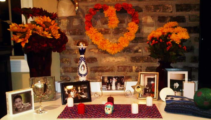 digital ofrenda for day of the dead gozamos