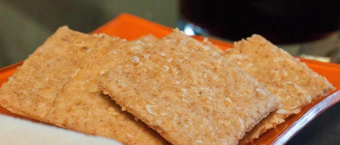 Whole-Wheat Crackers | Must Have Survival Food For Winter