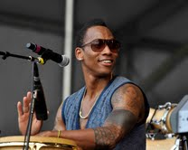 Pedrito Martinez at Jazz Fest