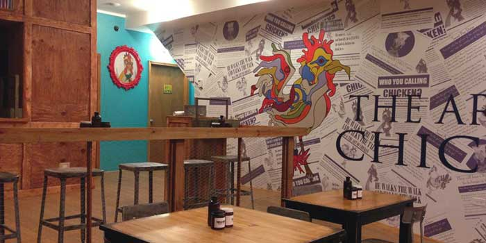 Art-of-Chicken-Interior-Tables-Wall