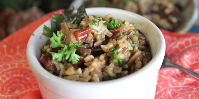 Brown-rice-mushroom-risotto