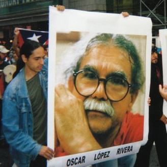 Me at the September 23, 2006 march to the United Nations (Photo: Stanley Muñiz)