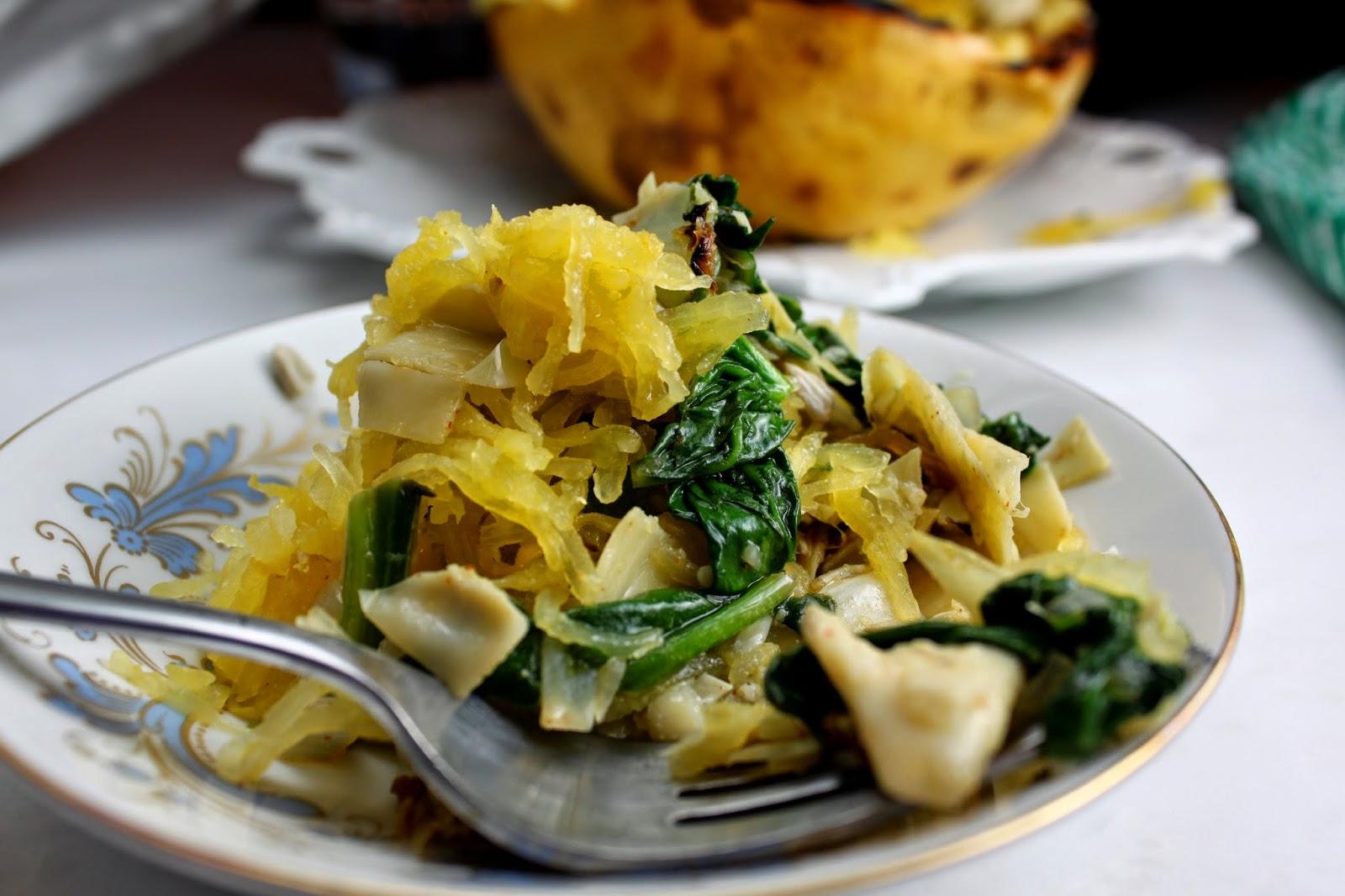 spaghetti-squash-spinach-artichoke