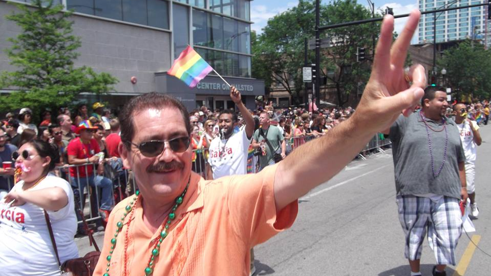 """Photo: Jesus """"Chuy"""" Garcia for Chicago Facebook page"""