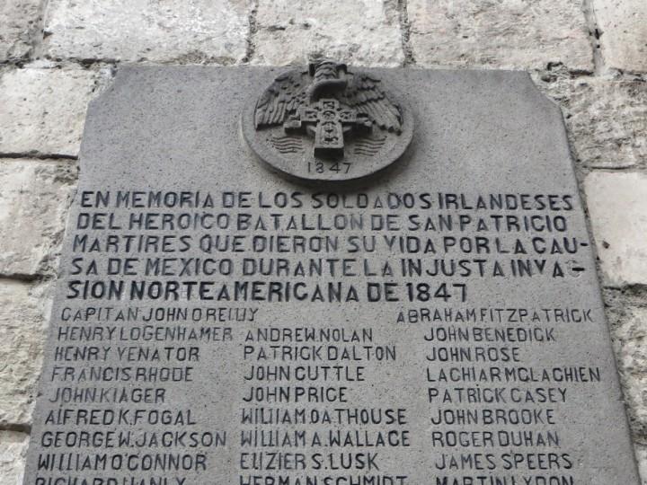 San Patricio's Memorial