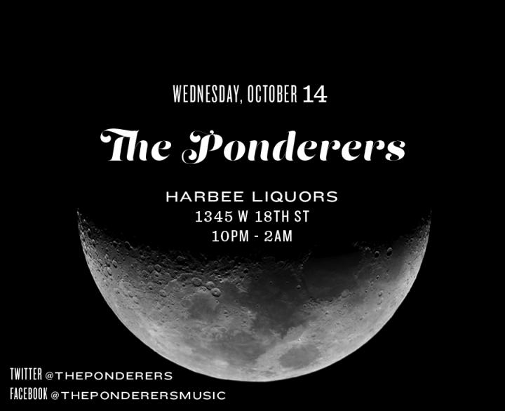 ThePonderersOctober2015