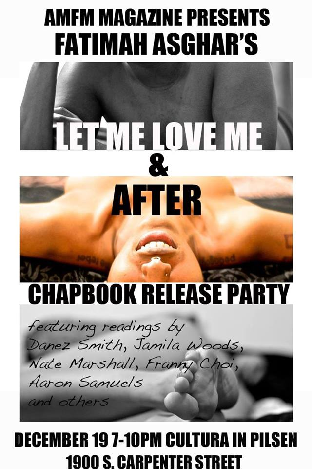 amfm AFTER release party flyer