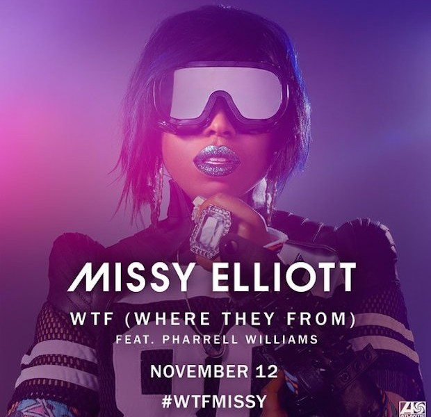 Resultado de imagen de Missy Elliott - WTF (Where They From) ft. Pharrell Williams [Official Video]