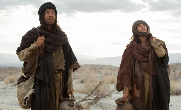 LDD_00423_CROP  (l to r) Ewan McGregor stars as 'Jesus' and Tye Sheridan as the 'Son' in the imagined chapter of Jesus' forty days of fasting and praying, LAST DAYS IN THE DESERT, a Broad Green Pictures release. Credit: François Duhamel / Broad Green Pictures