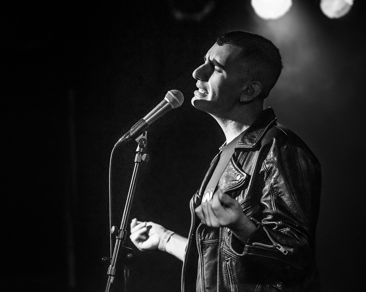 Alex Anwandter at Beat Kitchen, Photo: Jean Marc Lavoie
